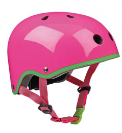 Přilba Micro Neon Pink M (53-57 cm)