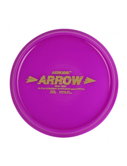 Flying saucer Aerobie ARROW purple, disc golf