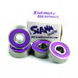 Slamm Infinity bearings 4pcs Purple