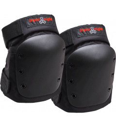 Chrániče Triple Eight Street Skate Knee Pads M Black