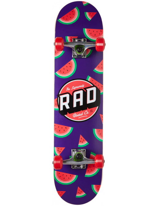 "RAD Dude Crew Skateboard Komplet (7.25""   Watermelon)"