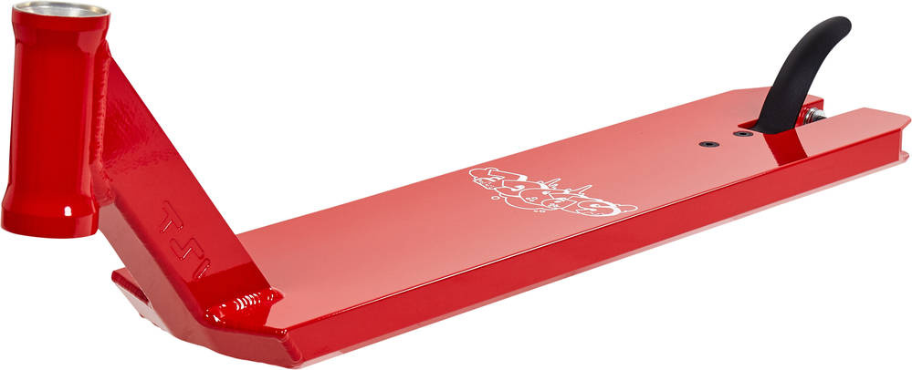 TSI Schlitten V3 rote Platte + Griptape kostenlos
