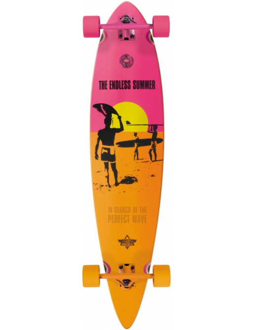 Longboard Dusters Endless Summer yellow/orange/pink vell.42