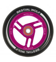 Bestial Wolf Race 100 mm kolečko černo růžové