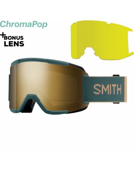 Brýle SMITH Squad spruce safari/chromaPop sun black 2020/21