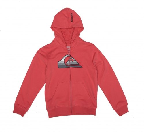 Mikina Quiksilver Sweat Zip 11 kids i dos madres red rum vell.16let