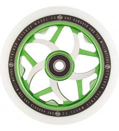 Kolečko Striker Essence V3 White 110mm zelené