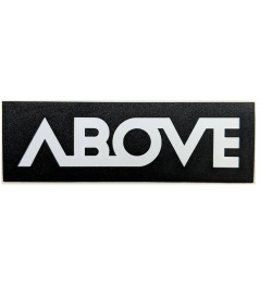 Sticker Above Classic black
