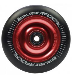 Metal Core Radical 100mm kolečko černo červené