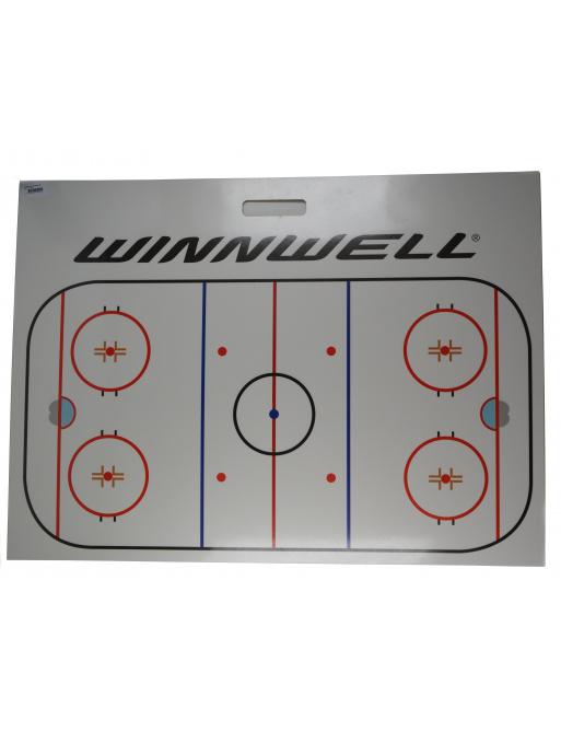Trenérská tabule Winnwell dřevo, 80x110cm