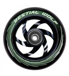 Kolečko Bestial Wolf Twister 110mm černé