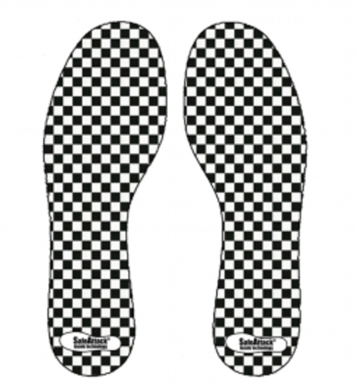 SafeAttack Insole Chessboard