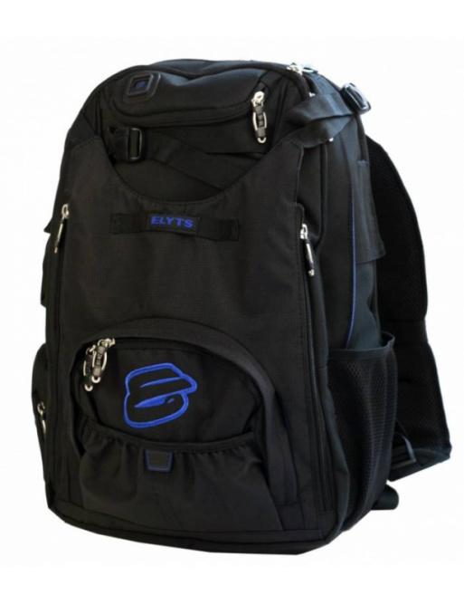 Elyts batoh černo modrý