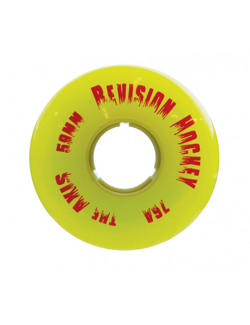 Kolečka Revision Axis Ghost Indoor Yellow (1ks)
