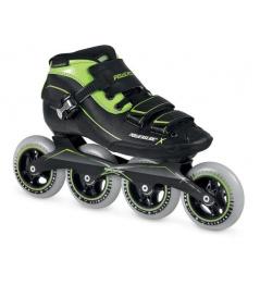 Kolečkové brusle Powerslide X-Skate Green