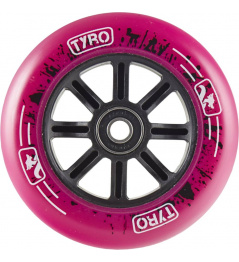 Kolečko Longway Tyro Nylon Core 110mm růžové