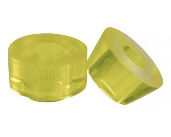 Jelly Derby Cushions Chaya Yellow 12x12mm (4ks)