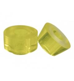 Jelly Derby Cushions Chaya Yellow 12x12mm (4ks)