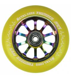 Metal Core Thunder Rainbow 110 mm kolečko žluté