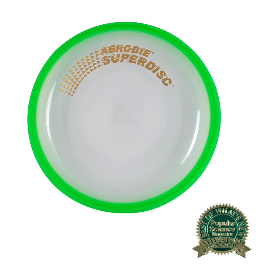 Flying plate Aerobie SUPERDISC green