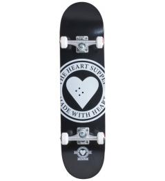 "Skateboard Heart Supply Logo 8"" Badge Black"