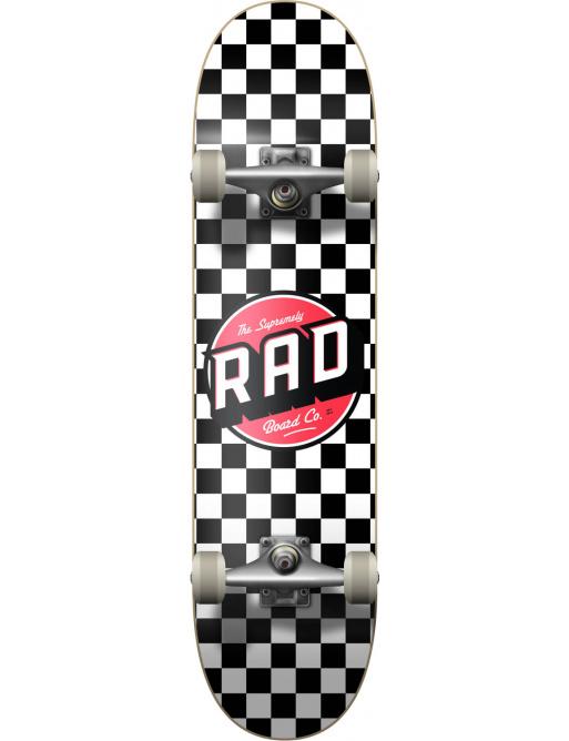 "RAD Checkers Skateboard Komplet (8"" | Checkers Black)"