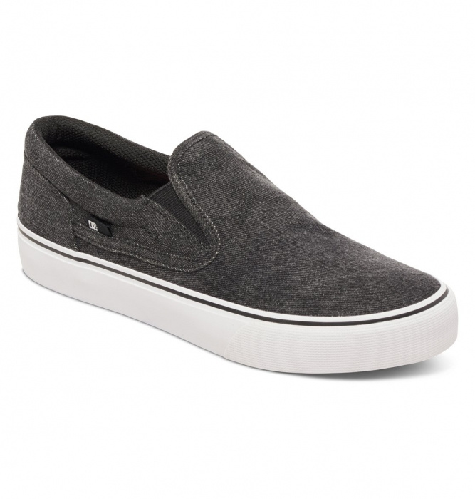 Boty Dc Trase Slip-On Tx Le washed out black 2016/17 vell.EUR44,5