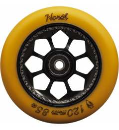 Kolečko North Pentagon 120mm Gum/Black