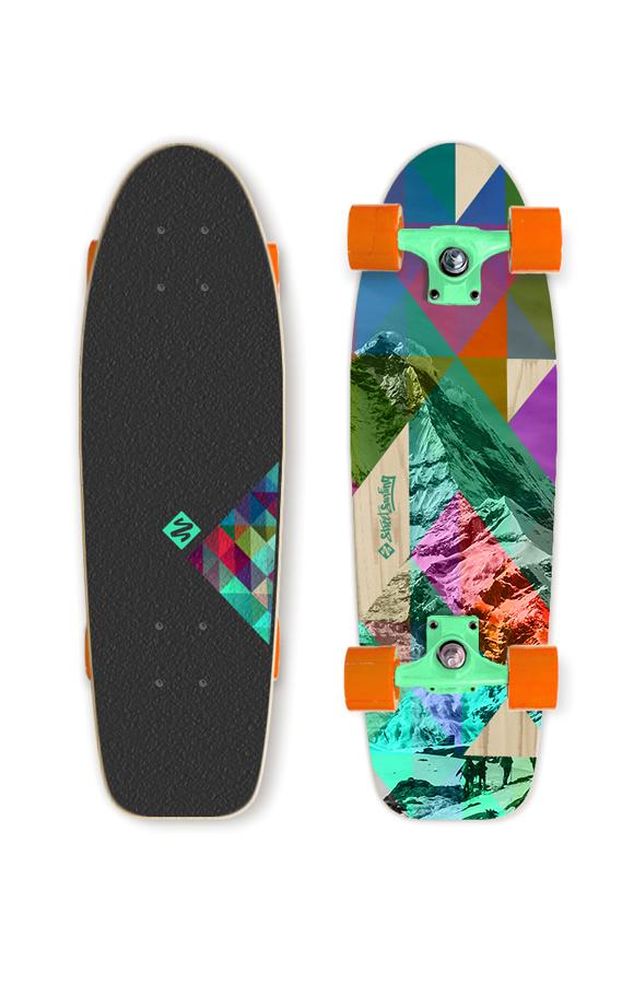 Street Surfing द्वारा किया Rocky Mountain Cruiser Street Surfing