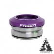 Fasen Integrated headset fialový