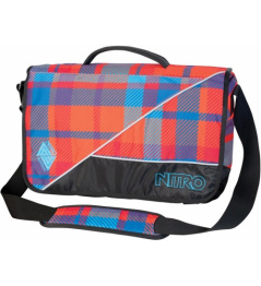 Nitro Evidence plaid red/blue 2013/14