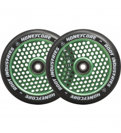 Kolečka Root Industries Honeycore black 120mm 2ks zelená