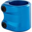 Inclinación azul esculpido