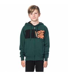 Mikina Horsefeathers Rounder bistro green 2019/20 dětská vell.XL