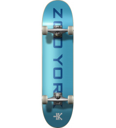 "Skateboard Zoo York OG 95 Logo Block 8"" Blue/White"