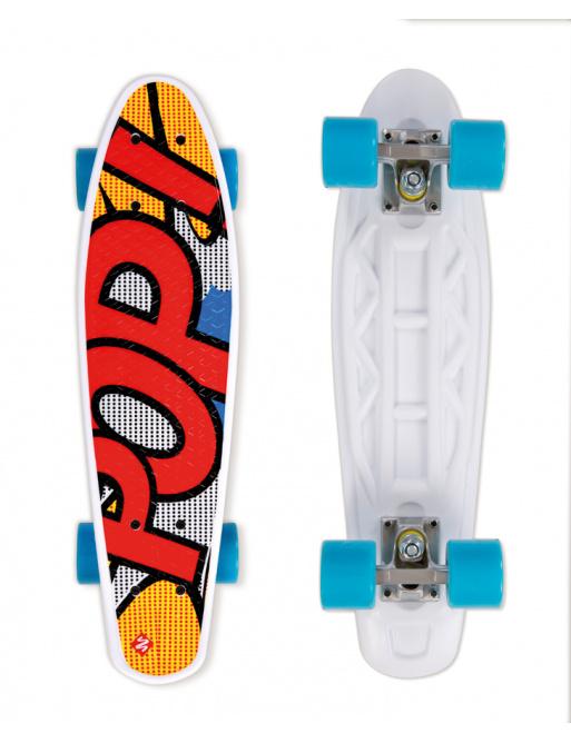Street Surfing Skateboard POP BOARD Pops Yellow