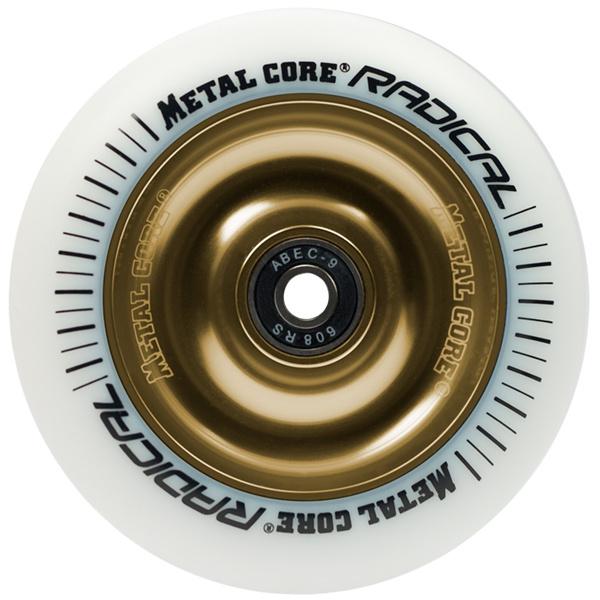 Metal Core Radical 110 mm white gold wheel