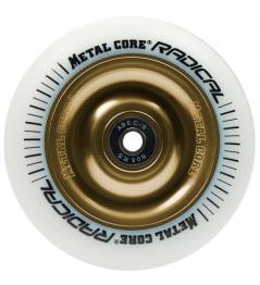 Metal Core Radical 110 mm rueda de oro blanco