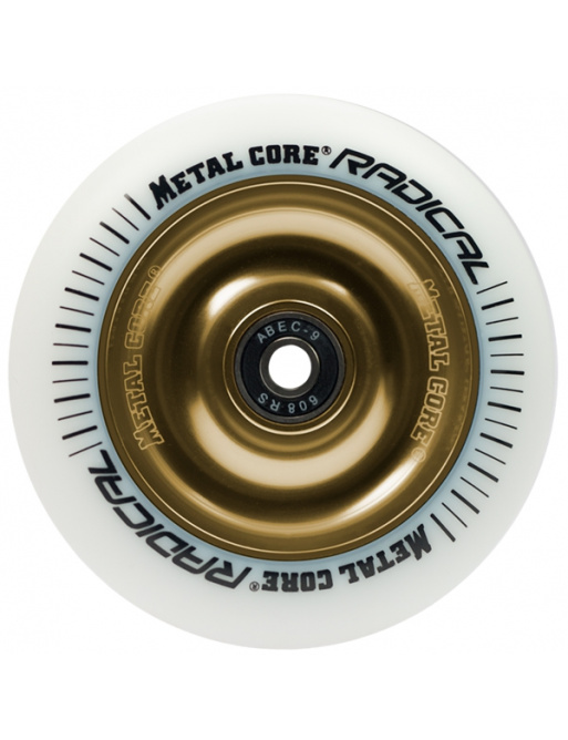 Metal Core Radical 110 mm white gold wheel
