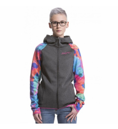 Mikina Nugget Tiffany Technical C heather grey/opacity mint 2019 dámská vell.L