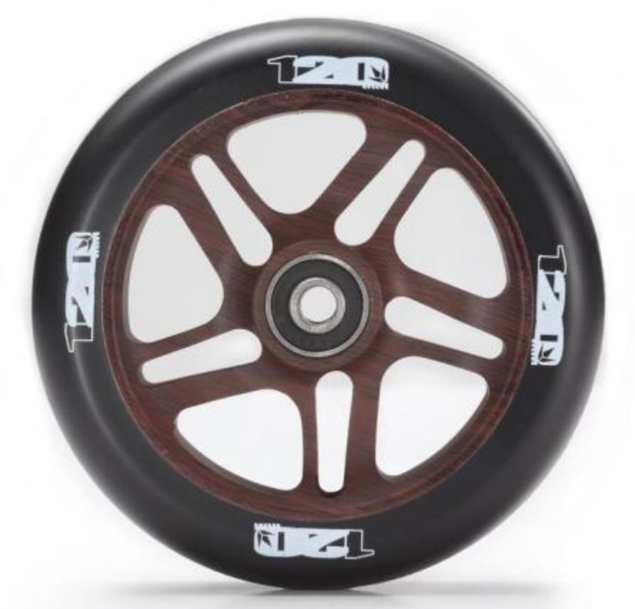 Blunt 120 mm wood roller