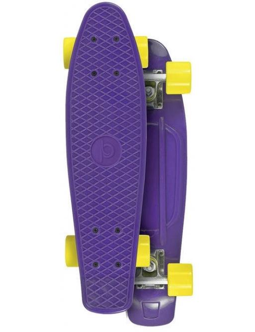 Skateboard Playlife Vinyl Board, fialová