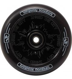 Kolečko Longway Monochrome City 110mm černé
