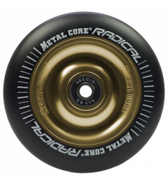 Metal Core Radical 100 mm koliesko čierno zlaté