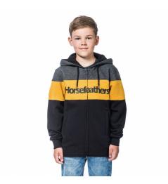 Mikina Horsefeathers Trevor golden yellow 2020/21 dětská vell.L