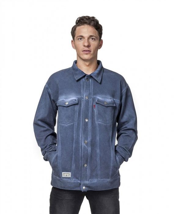 Horsefeathers Sweatshirt Danny washed indigo 2016 vell.L