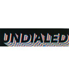 Samolepka Undialed Logo Tier