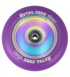Metal Core Disc 110 mm kolečko fialové