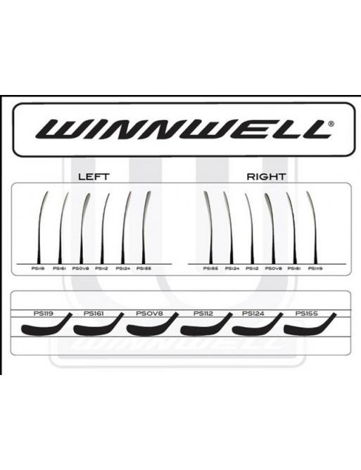 Hokejová čepel Winnwell GX-8 SR 2012, Senior,R,PS155