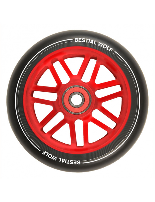 Wheel Bestial Wolf Shire 110mm red